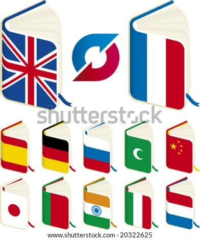 Vector illustration of translation concept. Only global colors. CMYK. Easy color changes. #20322625