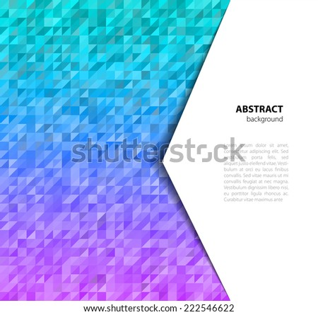vector illustration of triangle