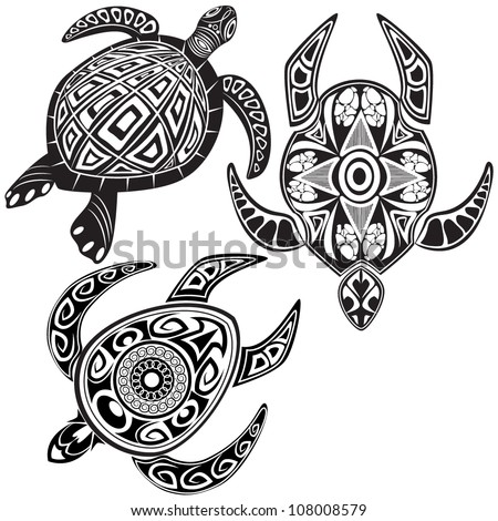 Maori Animal Tattoo