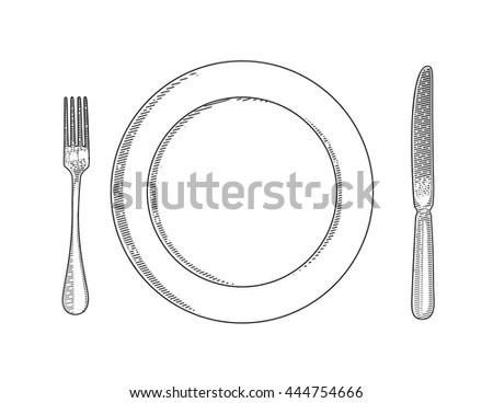 vector illustration of utensils....