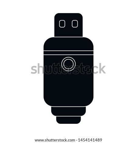Vector illustration of vape and electronic sign. Set of vape and device stock symbol for web.
