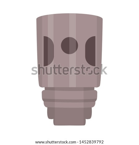 Vector illustration of vaporizer and vape logo. Collection of vaporizer and vapor vector icon for stock.