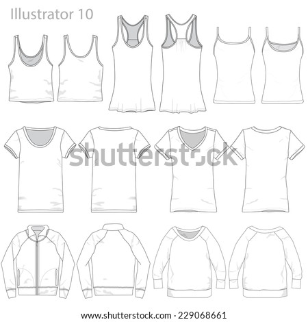 vector illustration of various