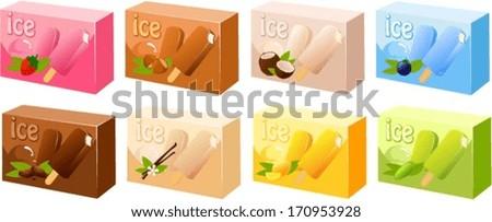 vector illustration of various