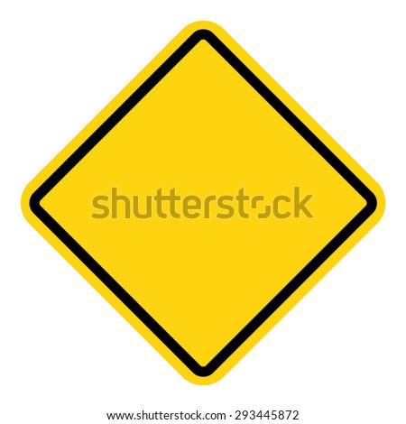 Vector illustration of warning sign #293445872