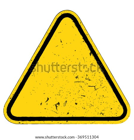 vector illustration of warning