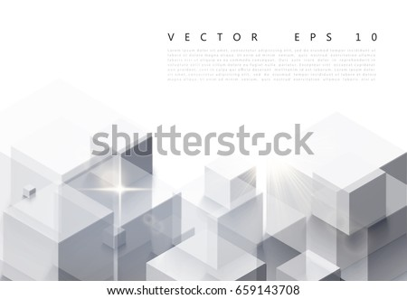 vector illustration of white