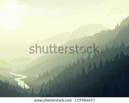 vector illustration of wild