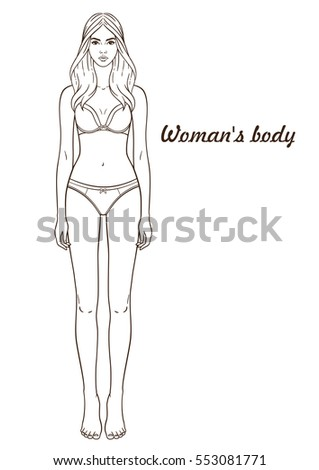 Free Woman Body Cliparts, Download Free Clip Art, Free Clip Art on Clipart  Library