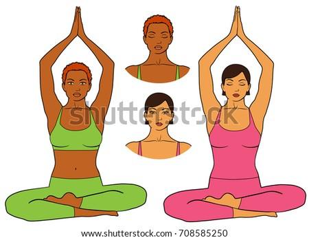 Ass Asian yoga teen