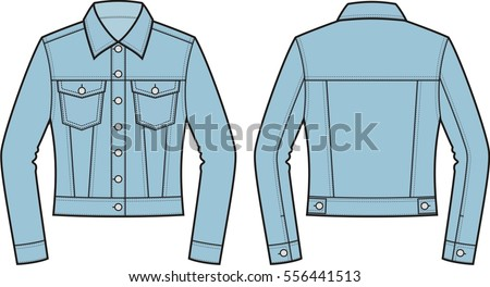 color windbreaker jacket flat vector illustration download free