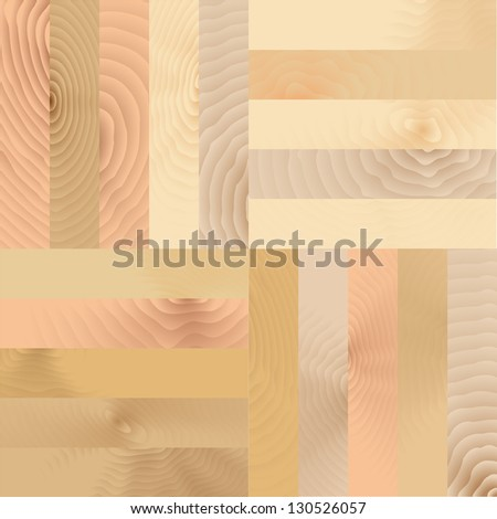 Vector illustration of wood flooring pattern