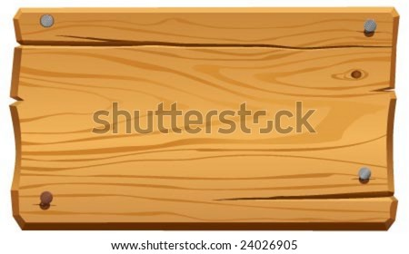 Frame Wood Vector Vector Illustration of Wood