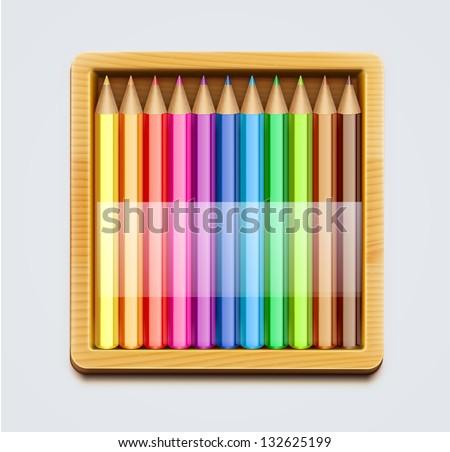 Коробка для карандашей фото