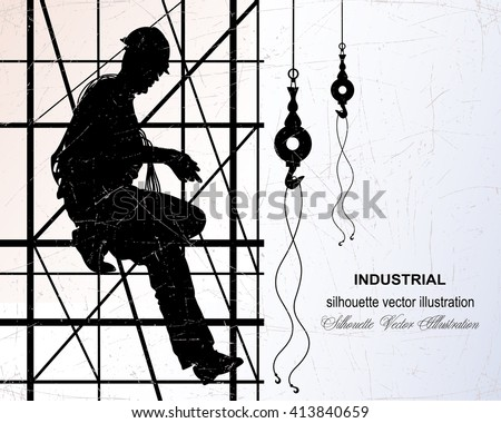 vector illustration of worker