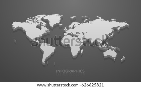 vector illustration of world