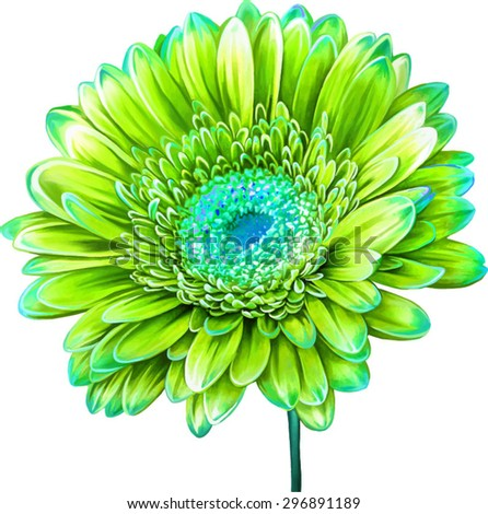 yellow green flower logo - photo #46