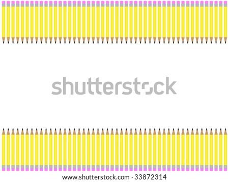 of yellow pencil border  Yellow Pencil Border