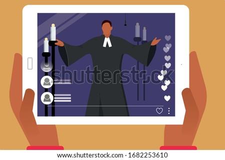 vector illustration  online
