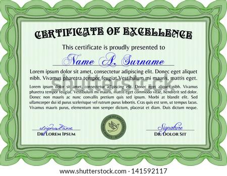 Certificate Border Green Design Free Vector Free Vector Download
