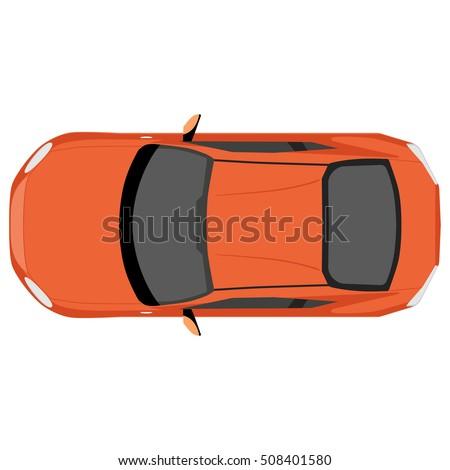 vector illustration orange