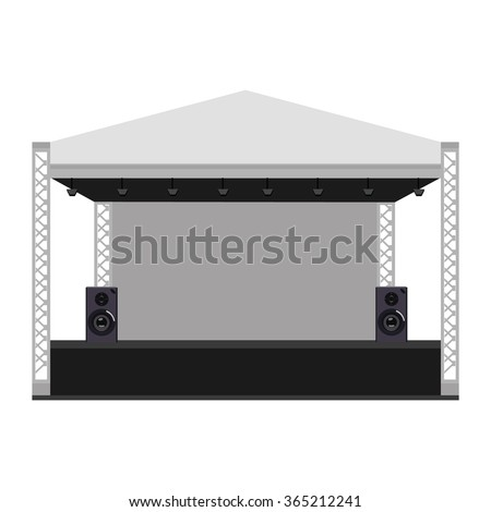 vector illustration outdoor