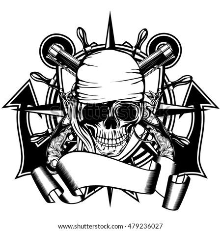 vector illustration pirate