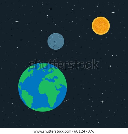 vector illustration planet