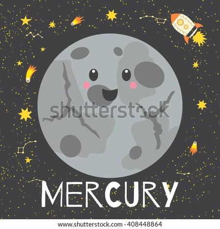 vector illustration planet