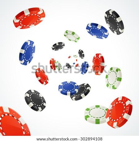 vector illustration pocker