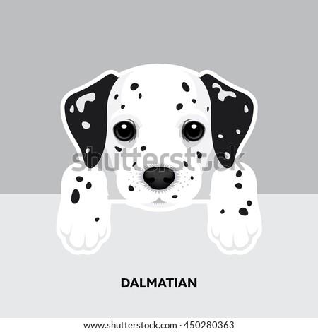 vector illustration portrait of