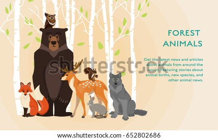 vector illustration poster with