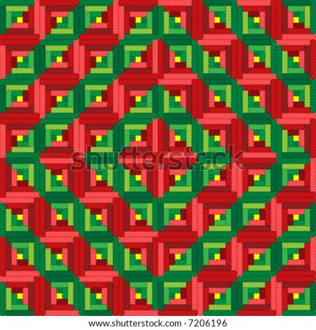 Make yourself at home! 7 Cozy Log Cabin Quilt Patterns