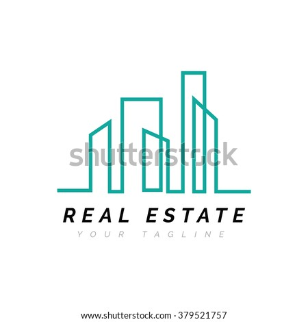 Vector Illustration : Real Estate Logo / Abstract Buildings Logo