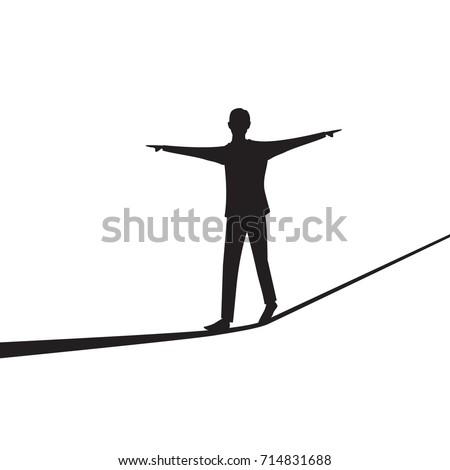 vector illustration risk