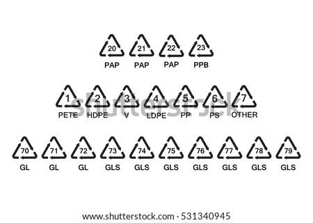 Gratis Recycle Pictogram Vectors
