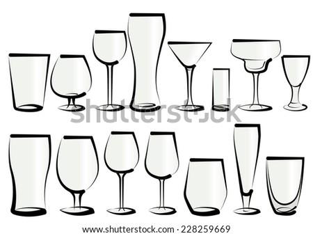 Types Of Liquor Glasses