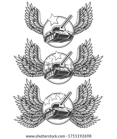 vector illustration set of gold