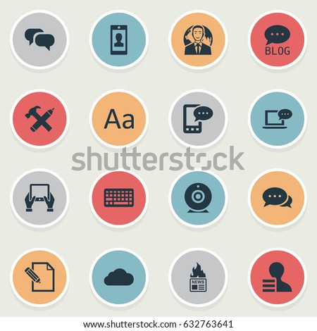 Airstock is - Vector Illustration Set Of Simple User Icons  Elements