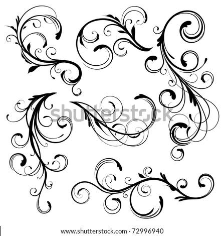 vector illustration set of