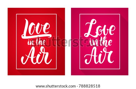 vector illustration  set of two