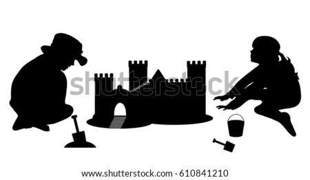 vector illustration silhouette