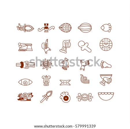 Aztec Signs Download Free Vector Art Stock Graphics Images