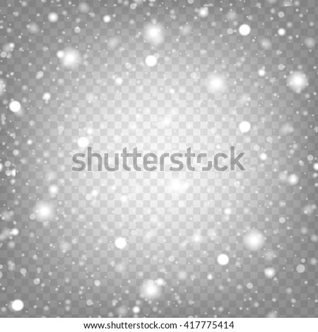 vector illustration snow