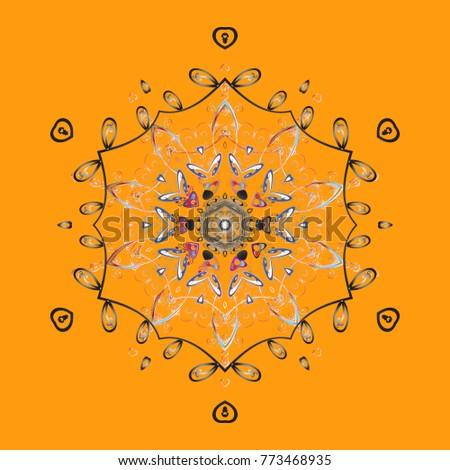 vector illustration snowflakes