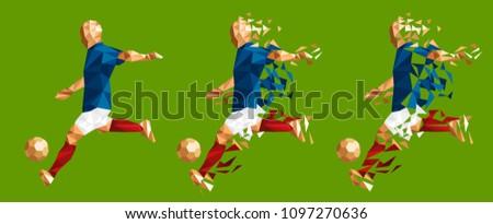 vector illustration soccer