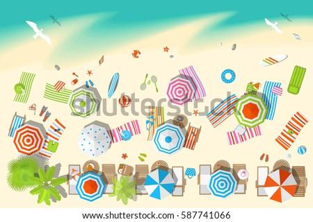 vector illustration sunny