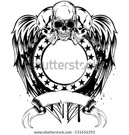 vector illustration three