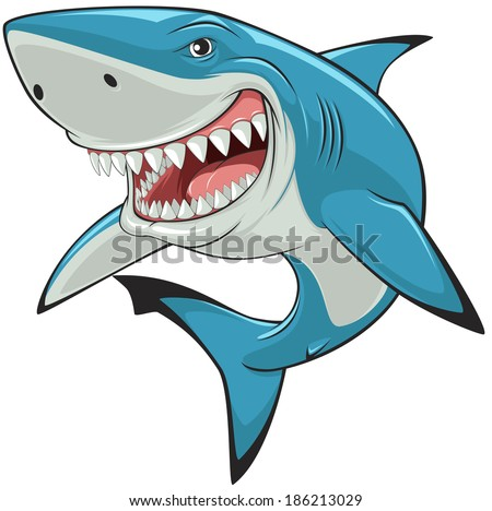 vector illustration  toothy
