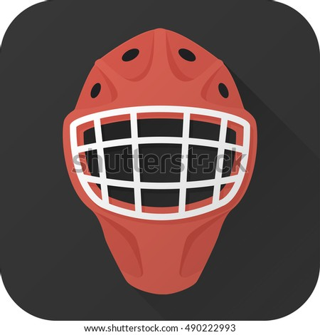 vector illustration toy hockey